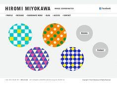 Hiromi Miyokawa WEB SITE on Behance