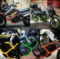 Show me your painted crash bars - Page 2 - KLR650.NET Forums - Your Kawasaki KLR650 Resource! - The Original KLR650 Forum!