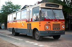 1970 DAF-Verheul streekbus 88 Oranjetip voor veerponten en smalle wegen,Rotterdam.RTM 88-III
