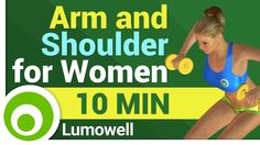 Arm and Shoulder Workout for Women - YouTube