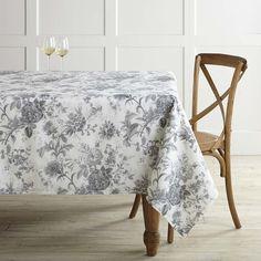 Floral Blossom Tablecloth | Williams Sonoma