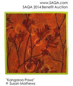 Art quilt by Susan Mathews
