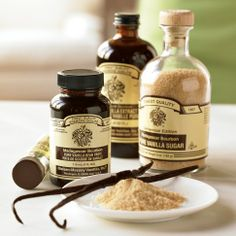 The Vanilla Bean Paste is what I use that makes stuff SO good...