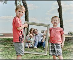 Family photo frame.