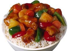 Get Sweet and Sour Chicken Recipe from Food Network