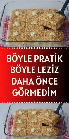 Turkish Delight, Turkish Recipes, Filet Crochet, Food Preparation, Ham, Cake Recipes, Food And Drink, Cooking, Breakfast