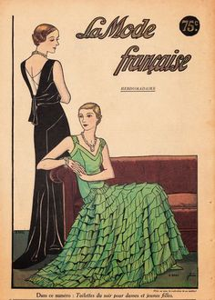 A Few Threads Loose: La Mode Française from January, 1932