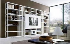 Tv wall storage unit storage combination wall unit wall storage cabinets living room intended for storage Living Room Wall Units, Living Room Cabinets, Living Room Shelves, Living Room Storage, Modern Wall Units, Living Room Modern, My Living Room, Living Room Designs, Living Room Decor