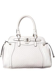 #Guess White Bag ! Pretty