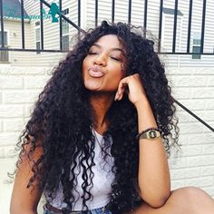 """91.00$  Watch here - http://aligj4.worldwells.pw/go.php?t=32704902713 - """"Full Lace Human Hair Wigs Brazilian Loose Curly Front Lace Wigs 130% Density Lace Front Human Hair Wigs For Black Women 8""""""""-24"""" 91.00$"""