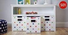 This storage is brilliantly easy and safe for children to use - and if something& easy to reach, it& easy to put away too. Toy Story Nursery, Off Game, Rainbow Star, Home Furniture, Locker Storage, Kids Room, Drawers, It's Easy, Cabinet