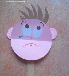 emozioni-3 Feelings Activities, Eyfs Activities, Educational Activities, Toddler Activities, Preschool Arts And Crafts, Paper Plate Crafts For Kids, Kindergarten, English Projects, Teaching Techniques