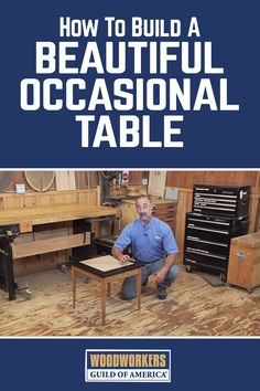 In this woodworking project video, George Vondriska guides you step-by-step on how to make a beautiful occasional table. George teaches some helpful tips and tricks on how to easily cut all the pieces required and how to create tapered legs that connect using biscuit joinery. The top of the table has a ceramic tile in the center and is framed with white oak.