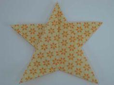 DIY STAR : DIY Fold an Origami 5 Pointed Star