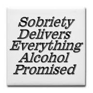 """SO TRUE!!!! You can only mask your """"problems"""" for so long... Alcohol is the root of all evil if you ask me!"""