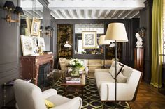 Architect-designer Michele Bönan's first Paris hotel infuses his signature style with a touch of je ne sais quoi.