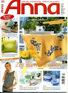 Crochet Books, Knit Crochet, Anna, Cross Stitch Magazines, Crochet Magazine, Album, Knitting, Blog, Crafts