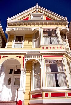 The term Painted Lady refers to Victorian and Edwardian Homes that have been painted in loud but harmonious colors to accentuate the stunning architectural details that were prevalent during the 19th Century. During the late 1970's, as they uncovered and rediscovered the excitement of the original tones, the term 'Painted Lady' was coined to refer to these colorful houses.
