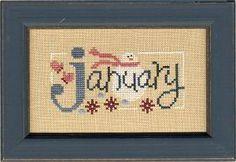 A Bit of January Flip-It Bits model from Lizzie Kate