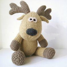 Ravelry: Rupert reindeer pattern by Amanda Berry