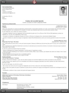 1000 images about resume examples on pinterest cover