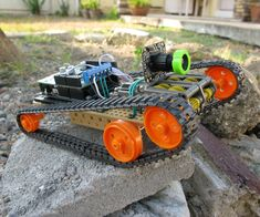 Let's build a Bluetooth/ WiFi controlled FPV Drone! RoverBot is a highly educational Arduino based ATV-drone. It's simple to make, easy to program and is a great...