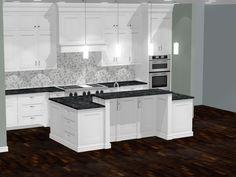 Interior Design Software, Kitchen Cabinets, Home Decor, Kitchen Cupboards, Homemade Home Decor, Decoration Home, Kitchen Shelves, Interior Decorating