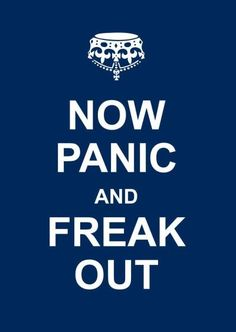 A parody of the famed Keep Calm and Carry On British motivational poster, and featuring the same successful format as the best-selling Keep Calm and Carry On book, Now Panic and Freak Out is destined