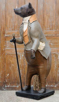 Melanie Bourlon sculptures en papier-mâché\