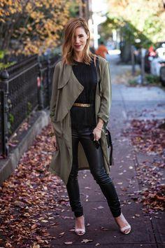 Marija of Sportsanista in the Rain or Shine Draped jacket || Get the jacket: http://www.nastygal.com/product/rain-or-shine-draped-jacket--olive?utm_source=pinterest&utm_medium=smm&utm_term=ngdib&utm_content=nasty_gals_do_it_better&utm_campaign=pinterest_nastygal #brianatwoodcampaign