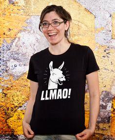 funny llama tshirt lmao tshirt mom funny tshirt sister by store365