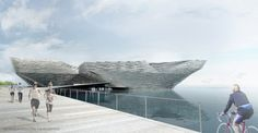 Kengo Kuma, a Japanese architect has won the competition to design the new V&A Museum at Dundee, Scotland. Kengo Kuma's proposal beat the other 6 proposals Kengo Kuma, Museum Plan, V & A Museum, Dundee Waterfront, National Design Centre, Dundee City, Win Competitions, Modern Architects, The V&a