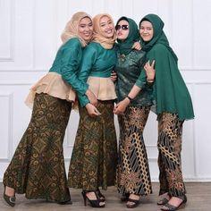 10 Model Baju Batik Pesta Wanita Muslim Modern Women S Fashion
