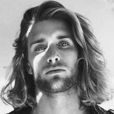 Thick Long Straight Hair - 40 Hot Guys with Long Hair: Sexy Long Hairstyles For Men #longhairmen #menshairstyles #menshair #menshaircuts #menshaircutideas #menshairstyletrends #mensfashion #mensstyle #fade #undercut #barbershop #barber