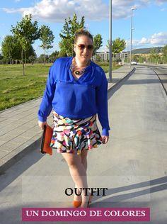 Los looks de mi armario: Outfit · Un Domingo de colores