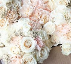 These romantic bouquets would be lovely in an elegant ceremony a the Integrity Hills by Big Cedar chapel. http://www.big-cedar.com/Page/Integrity-Hills-Weddings.aspx