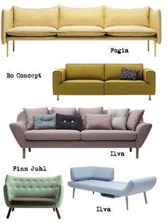 rosa soffa vardagsrum - Sök på Google