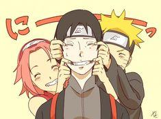 Sakura , Sai e Naruto #Time7