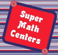 Corkboard Connections: Super Math Centers Link Up - Over 20 blogs linked up to this post about management tips and ideas for math centers. Loads of free resources!