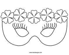 maschere di carnevale | Sorelle Bloggerelle: Maschere di carnevale DIY