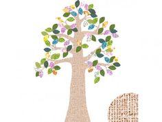 Fairkids   Zook - bijzondere muurstickers van een boom.