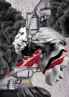 Collage vintage par Anton Walker