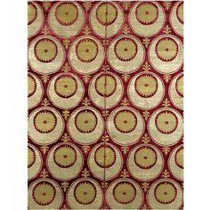 Ottoman voided silk velvet and metal thread CATMA panel, Bursa or Istanbul, Turkey