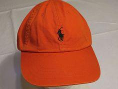 Men s Polo Ralph Lauren hat cap golf casual 6510256 orange adjustable  classic  PoloRalphLauren  cap abdf89531d26e
