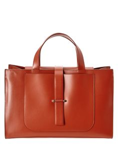 Spotted this Jil Sander Leather Tote on Rue La La. Shop (quickly!).