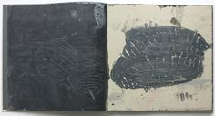 """Lanterns, a hand-painted book, 13"""" x 13"""", 56 pages, created in 2004 by Ward Schumaker"""