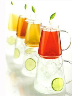 Iced Tea Maker: Mom can steep the tea in one pitcher and pour into the other for instant iced tea.