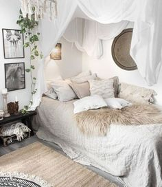 Bohemian Bedroom Decor, Assembling a Boho bedroom could be tricky. Ideally you would like your Bohemian bedroom to appear c, Bohemian Bedroom Decor, Boho Room, Hippie Bedrooms, Boho Decor, Bohemian Interior, Boho Diy, Bedroom Shabby Chic, Bohemian Bedroom Diy, Bedroom Romantic