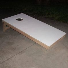 DIY instructions for Cornhole - must make this by next weekend!
