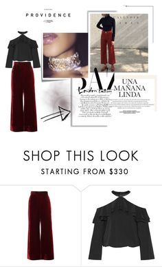 """""""Untitled #323"""" by dulmik ❤ liked on Polyvore featuring E L L E R Y, Alice + Olivia, Post-It and Kerr®"""